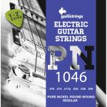 Corde elettrica Gallistrings PN1046 pure nickel regular 10-46